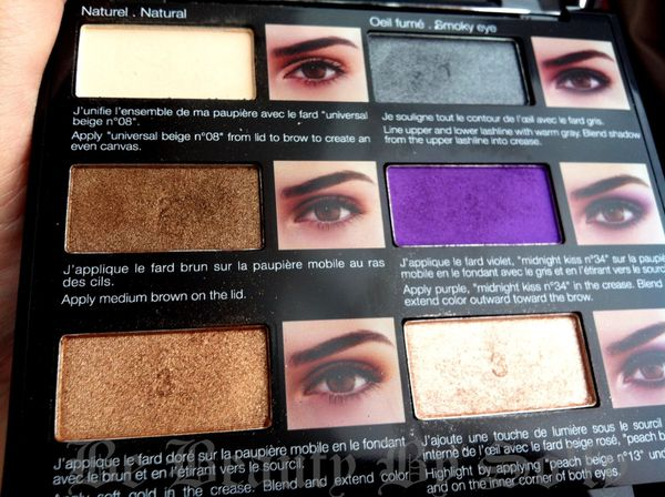 maquillage yeux marrons palette sephora