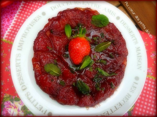 tatin fraise menthe 4