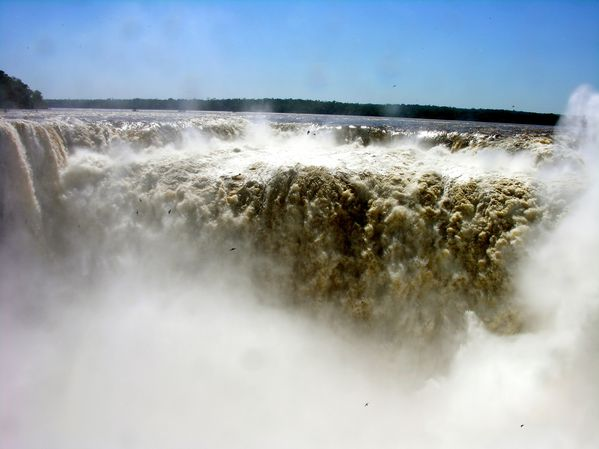 bresil Iguazu Cascade Gorge Diable 6
