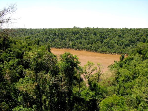 bresil Iguazu Fleuve ARgentin0