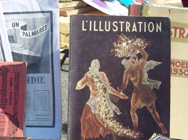 Brocante la frette l'Illustration