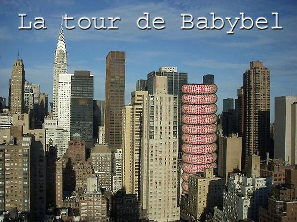La tour de Babybel