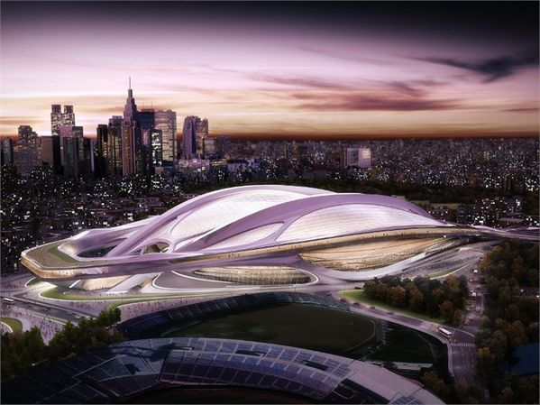 Nouveau stade national du Japon 01