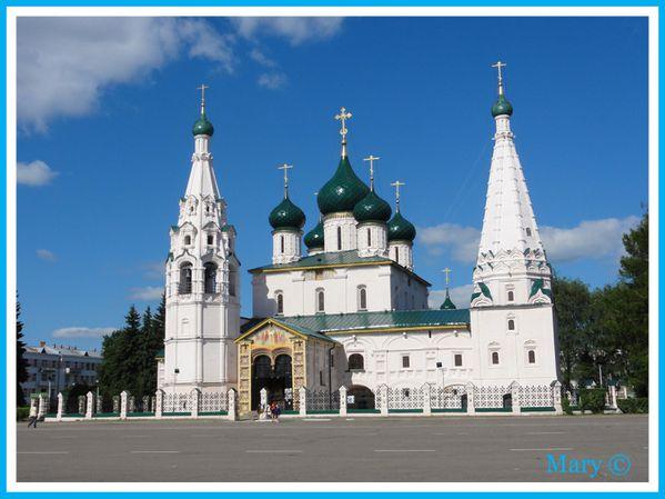 Eglise Saint Elie le prophète à Iaroslav Russie