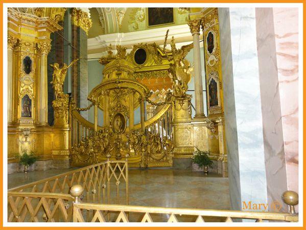 Chaire Palais de l'Ermitage