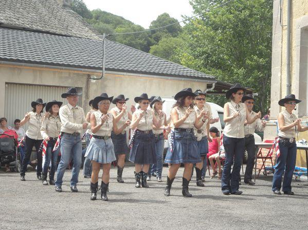 A la fête de St Bonnet, avec Tallende Country (8)