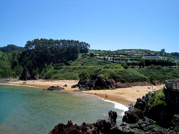Plage de Perlora (Asturias)