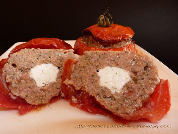 tomates farcies coeur de chèvre (3)