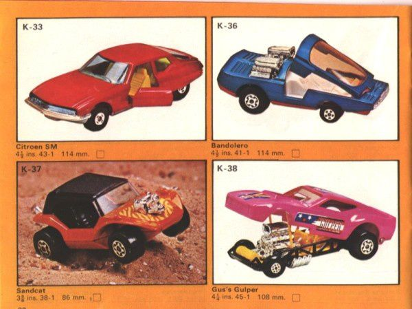 catalogue matchbox 1975 p32 bandolero