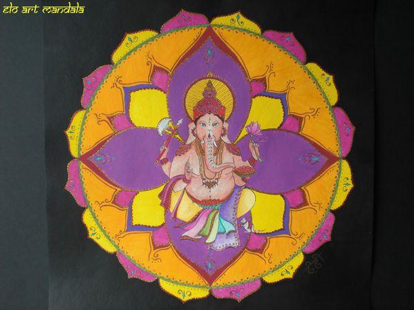 Mandala Ganesh 2