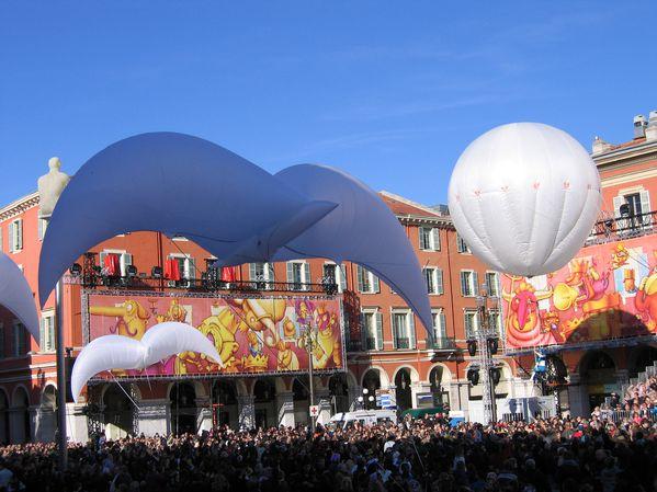 Oiseaux gonflables carnaval