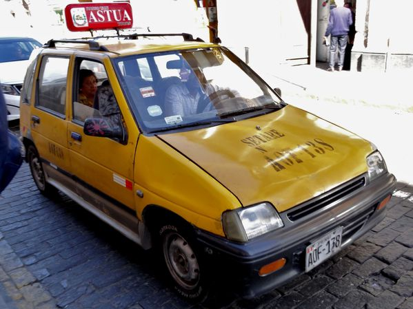Arequipa taxi