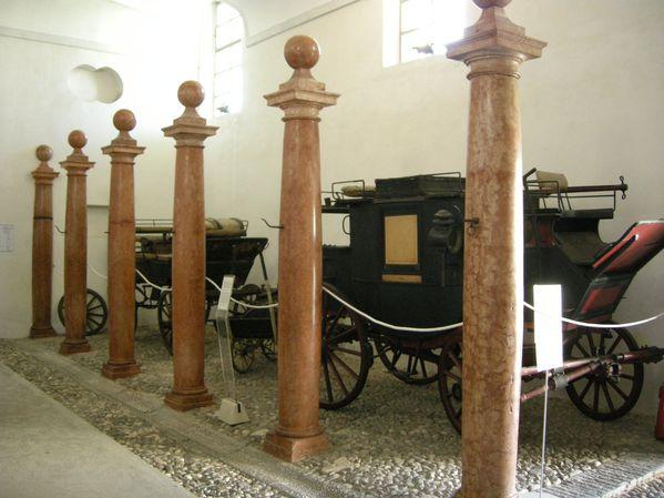 Villa manin, museo carrozze 02