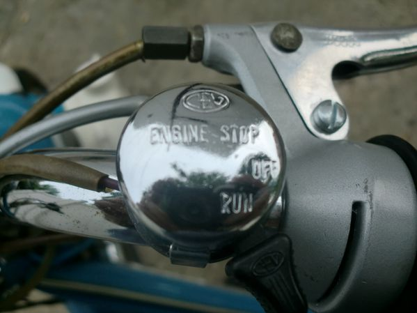 45. Engine Stop Switch; RUN / OFF