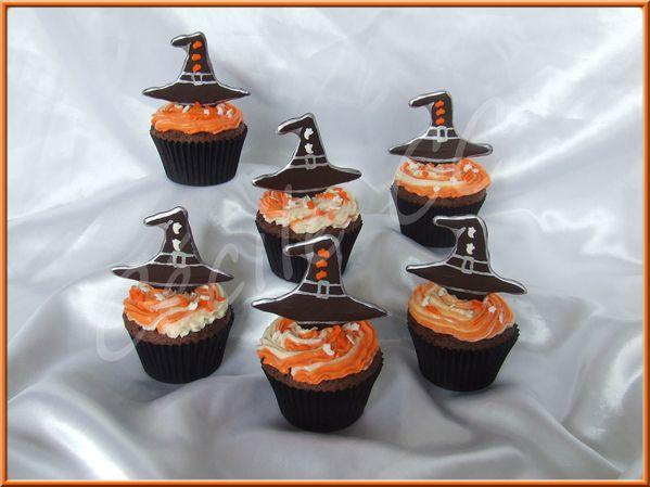 Tuto Cupcakes Halloween Chapeau De Sorcière En Choco Méga
