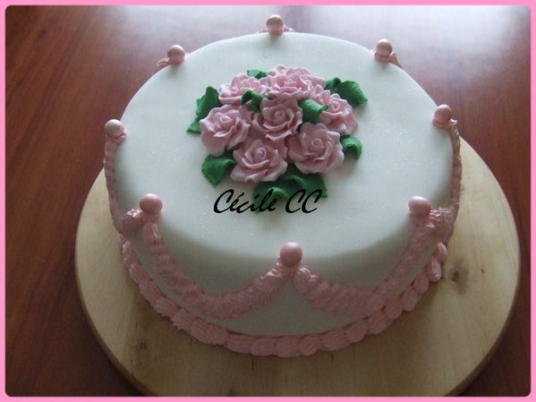 Decoration Gateau Glacage Royal
