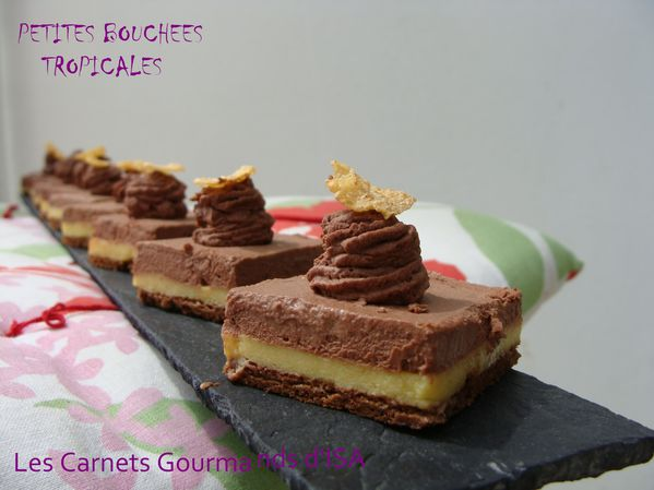 pETITES BOUCHEES TROPICALES