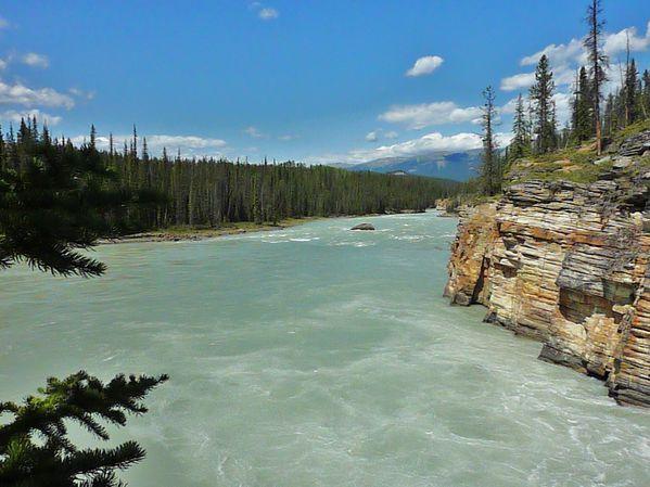 Jour 19 route des Glaciers rivière Athabasca 2