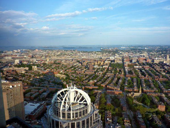 Boston vue du Prudential Skywalk 2