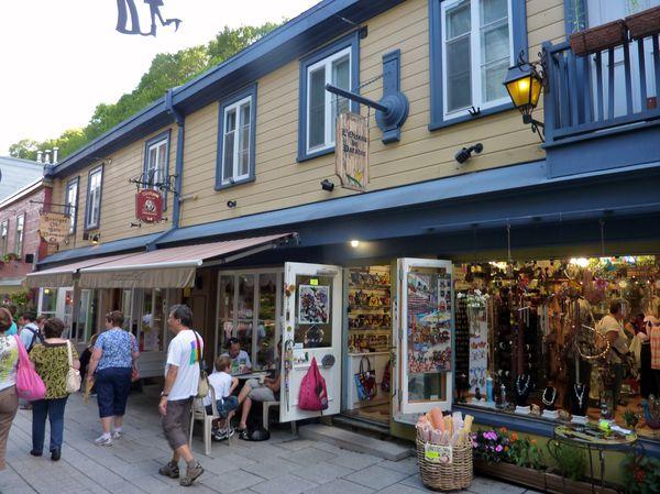 Québec rue Petit Champlain Norbert