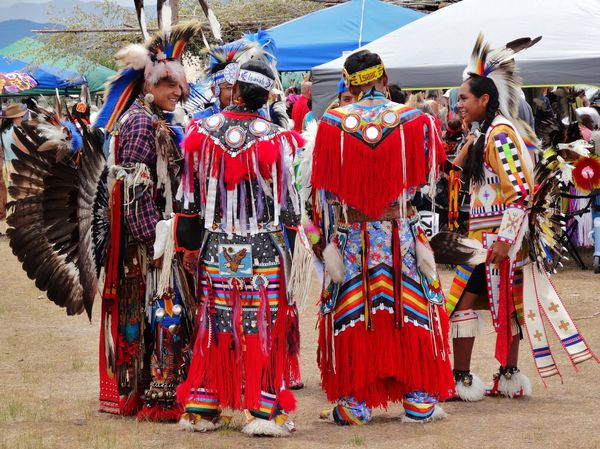 Taos Pow Wow 40 groupe