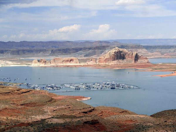 Lac Powell Whawheap marina