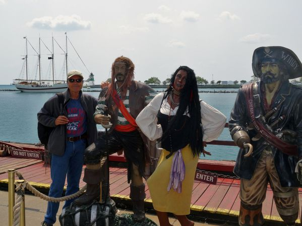 Chicago Navy Pier pirates