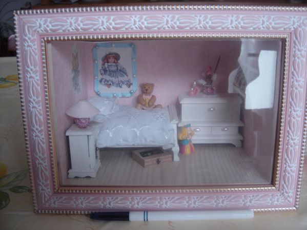 vitrines chambre de petite fille isa ptitbout. Black Bedroom Furniture Sets. Home Design Ideas