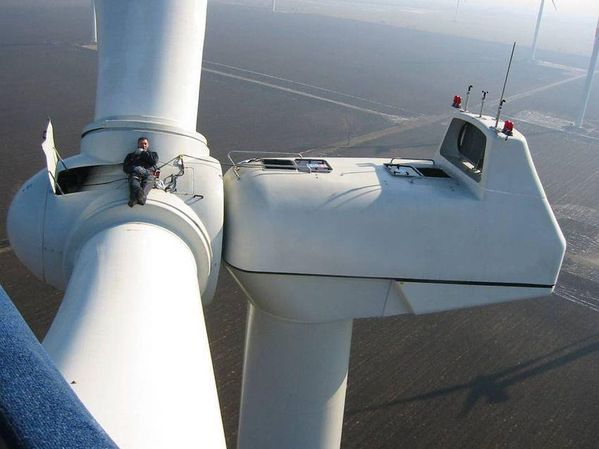 Bulgarian Wind Farm, photo European Wind
