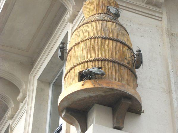 ruche et abeilles à PARIS 1er arrondissement