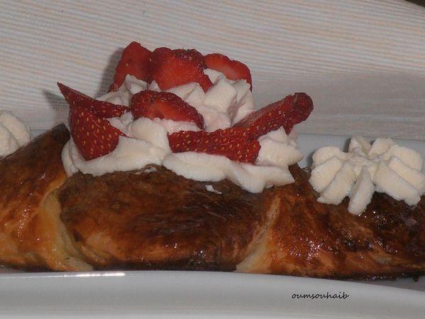 feuilleté fraises 2