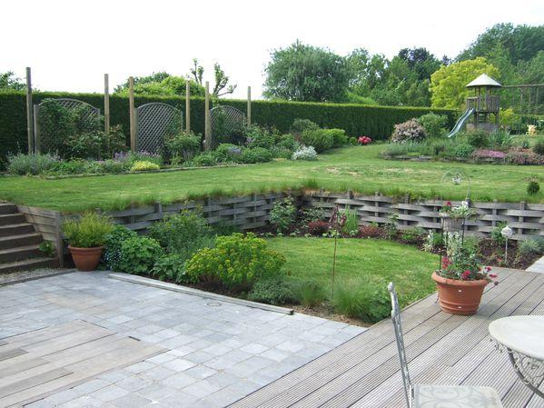 Vues d 39 ensemble le jardin de bene for Exterieur anglais