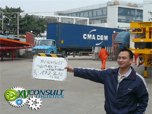Container export Chine