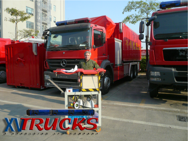 Camion pompiers - Vehicules incendies - Import export Chi