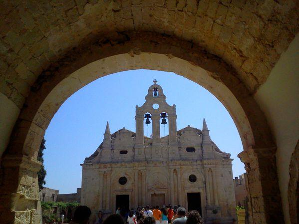 La basilique d' ARKADI