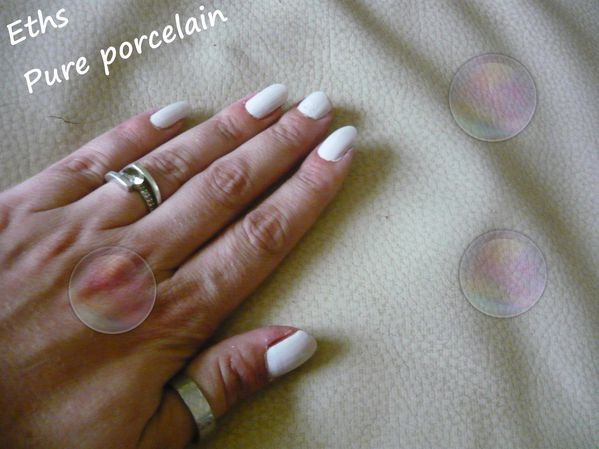 Orly Pure porcelain 2 couches 1