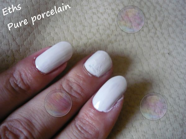 Orly Pure porcelain 2 couches 2
