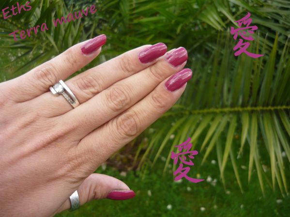 Orly terra mauve 2 couches 1