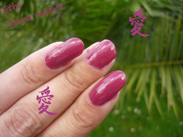 Orly terra mauve 2 couches 2