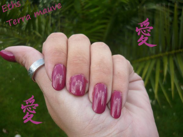 Orly terra mauve 2 couches 3