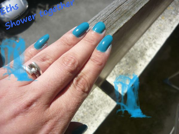 china glaze Shower together 650 collection 2 couches 1