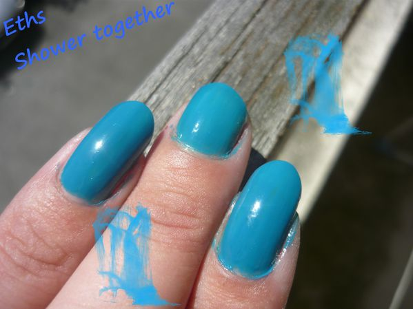 china glaze Shower together 650 collection 2 couches 2