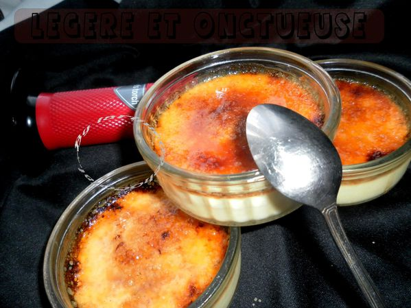 Creme Brulee A La Vanille Tres Legere Et Onctueuse By Tartine