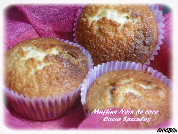 muffins coco spéculos