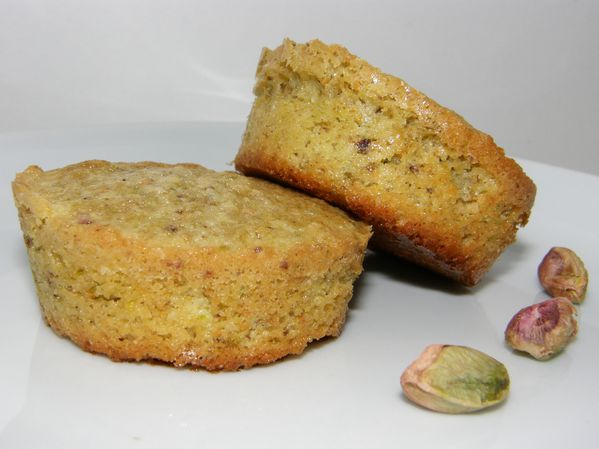 Financiers pistaches1