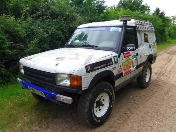 land rover discovery 300tdi quip rallye raid 1996 off road generation. Black Bedroom Furniture Sets. Home Design Ideas