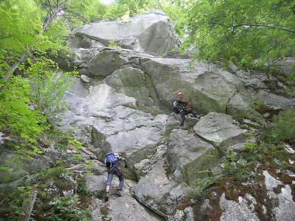 Klettersteig Weiße Gams : Klettersteige mit kindern in bayern und Österreich weiße gams