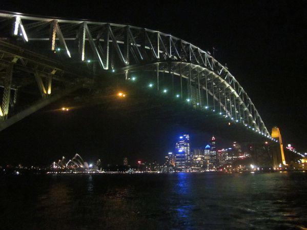 Sydney Harbour bridge nuit