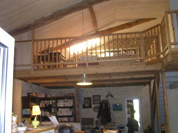 une mezzanine maison le blog de les grandemains quichantent. Black Bedroom Furniture Sets. Home Design Ideas