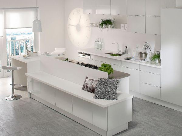 Cuisine notre future maison for Table cuisine leroy merlin